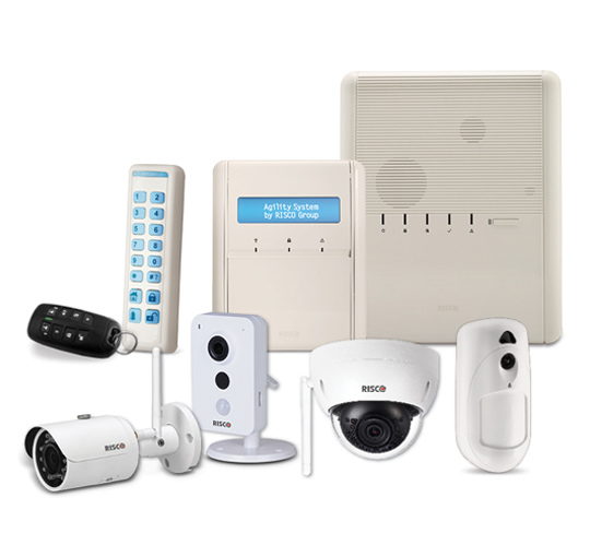 Risco Agility 4 Intruder alarm and CCTV-in-One