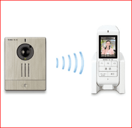 Aiphone Wireless Video Intercom with Cordless Handset