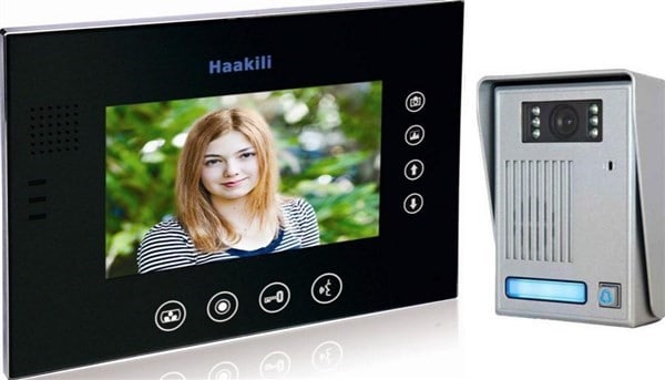 Haakili Hardwired Intercom with Picture Memory
