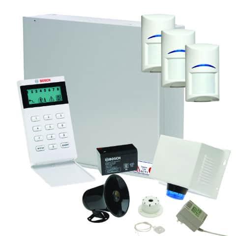 Bosch Alarm System – Solution 3000 Alarm Package